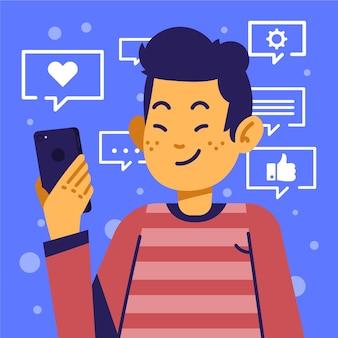 Progettazione di social media marketing