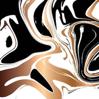 Progettazione di struttura di marmo liquido, superficie di marmorizzazione variopinta, progettazione astratta vibrante della pittura
