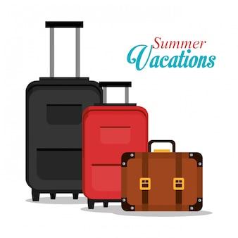 Progettazione di vacanze estive.