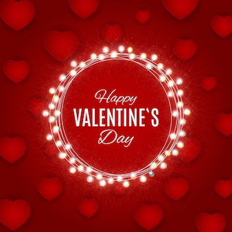 Progettazione di vendita di amore e sentimenti di san valentino.