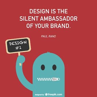 Progettazione e branding vettoriali manifesto