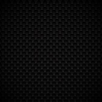 Progettazione geometrica nera astratta del fondo dei quadrati