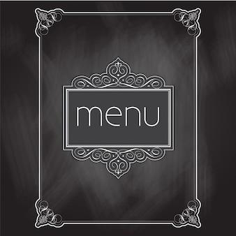 Progettazione menu lavagna