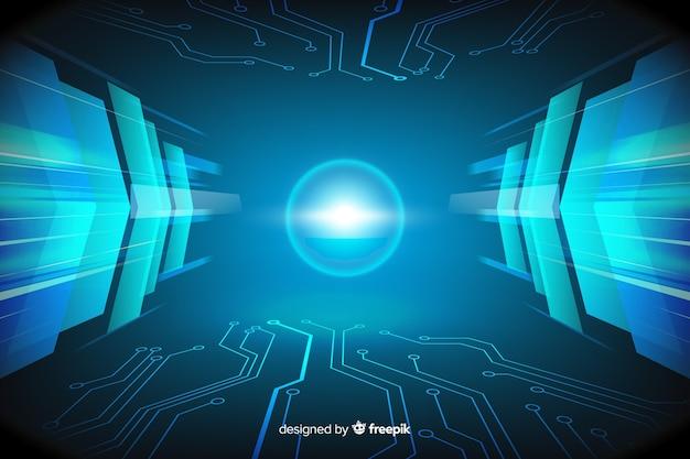 Progettazione piana del fondo leggero tecnologico di tunnel