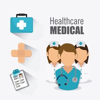 Progettazione sanitaria medica.