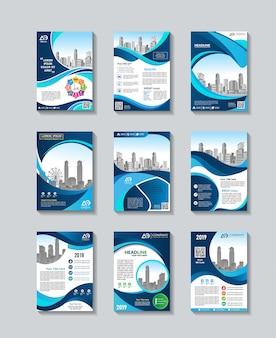 Progettazione stabilita del modello dell'aletta di filatoio di vettore di affari
