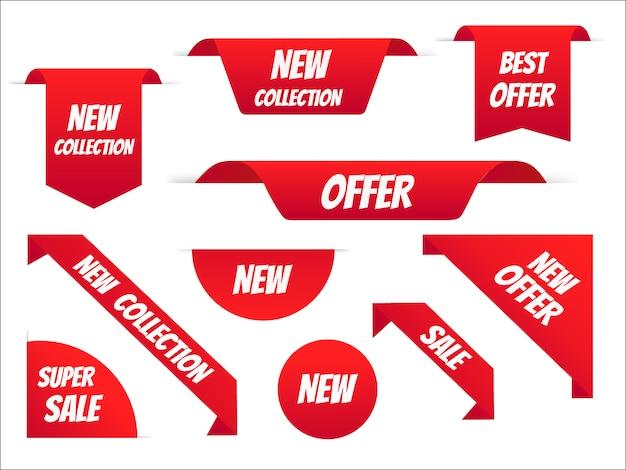 Progettazione stabilita del modello dell'insegna di vendita, offerta speciale di grande vendita.