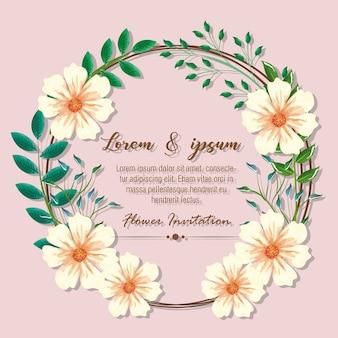 Progettazione tropicale e esotica delle illustrazioni di vettore dei fogli e dei fiori