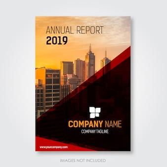 Progetto di copertina del rapporto annuale