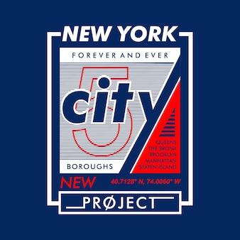 Progetto di new york city