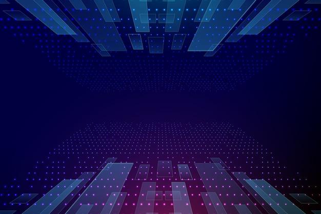 Progetto di sfondo tecnologico
