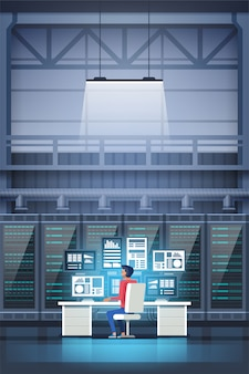 Programmatore nel data center