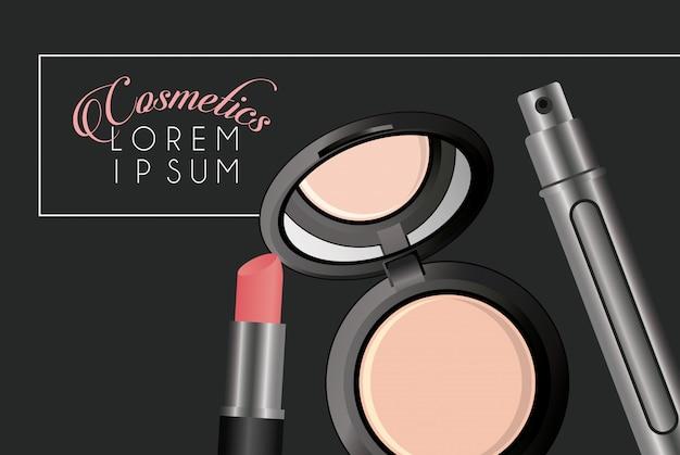 Promo di cosmetici per il trucco