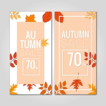 Promozione sconto vendita autunno