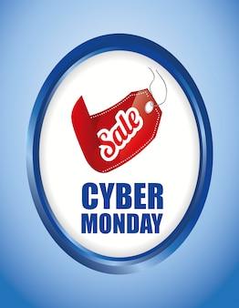 Promozioni e vendite di e-commerce per il lunedì cyber
