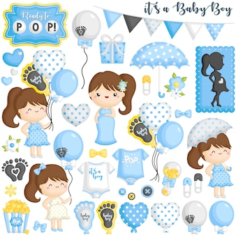 Pronto per pop baby set incinta