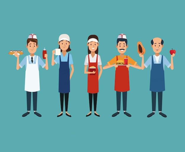 Proprietari di stand gastronomici