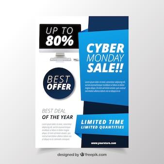 Prospetto di vendite cyber monday