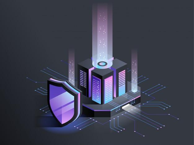 Protezione digitale isometrica