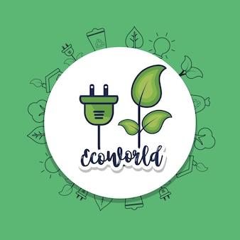 Protezione ecologica per la cura dell'ambiente naturale