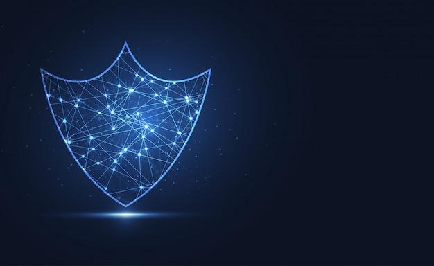 Protezione scudo. sicurezza premium