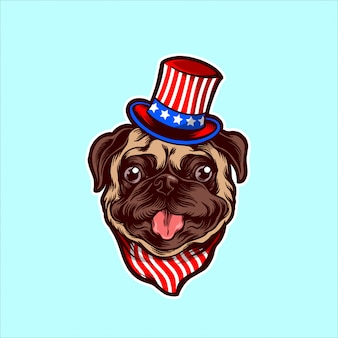 Pug americano