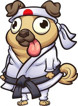 Pug karate