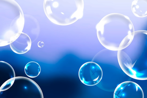 Pulire le bolle di sapone