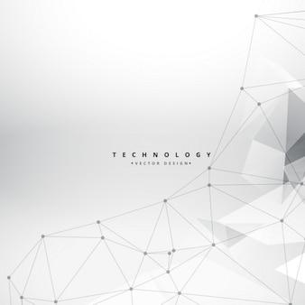 Pulito forme geometriche sfondo tecnologia