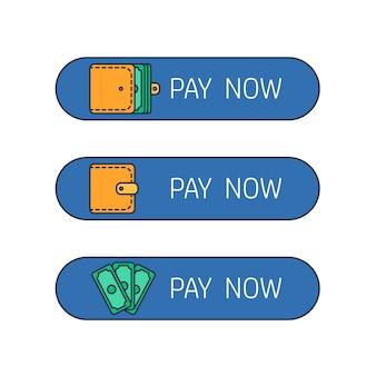 Pulsante di pagamento web