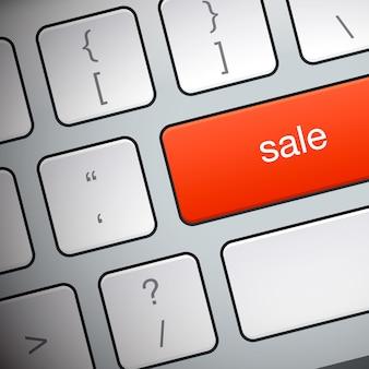 Pulsante di vendita sulla tastiera
