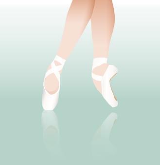 Punta le scarpe