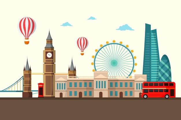 Punti di riferimento della città - sfondo per le videoconferenze