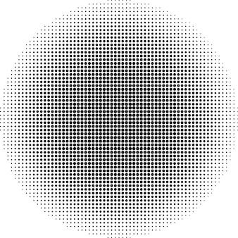 Punti mezzatinta vettoriali. cerchio astratto punti sfondo vettoriale. eps 10