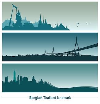 Punto di riferimento di bangkok thailandia
