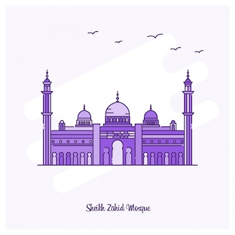 Punto di riferimento di sheikh zahid mosque