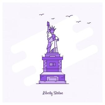 Punto di riferimento statua liberta