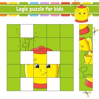 Puzzle logico per bambini.