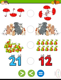 Puzzle matematico educativo