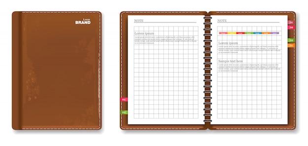Quaderno di cuoio