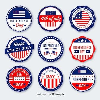 Quarta collezione di badge del luglio