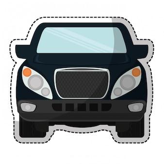 Raccogliere l'icona del camion