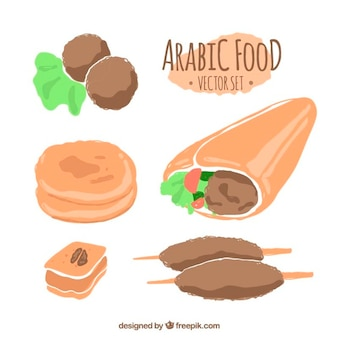Raccolta alimentare tradizionale araba
