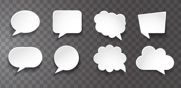 Raccolta bolle di chat