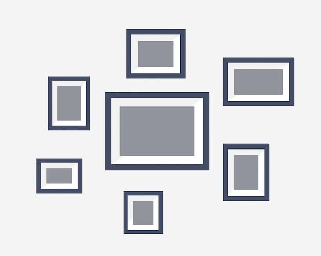 Raccolta del vettore dell'illustrazione della foto del blocco per grafici