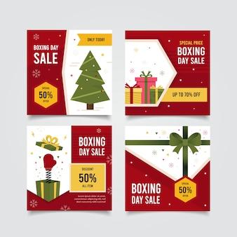 Raccolta della posta del instagram di vendita di santo stefano