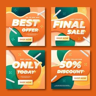 Raccolta delle migliori offerte di vendita finali