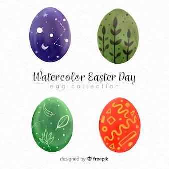Raccolta delle uova del giorno di pasqua