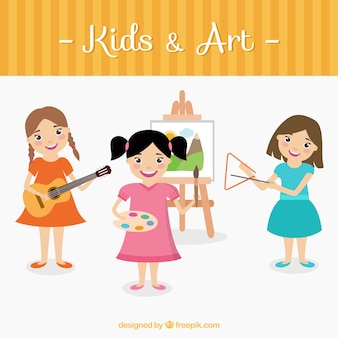 Raccolta di artisti di kid