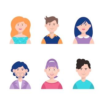 Raccolta di avatar di persone